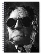 The Invisible Man Spiral Notebook