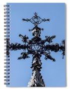The Iron Cross Of Santa Cruz Spiral Notebook
