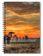 The Iron Horse 517 Sunrise Spiral Notebook