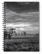 The Iron Horse A New Dawn 7 Spiral Notebook