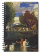 The Island Of Life 1888 Spiral Notebook