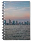 The Island Of Manhattan Spiral Notebook