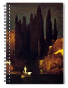 The Isle Of The Dead 1880 Spiral Notebook