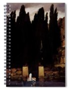 The Isle Of The Dead 1886 Spiral Notebook
