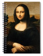 The Isleworth Mona Lisa Spiral Notebook