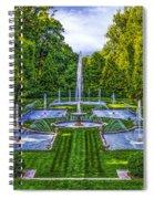 The Italian Water Gardens Spiral Notebook