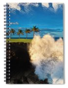 The Jack Nicklaus Signature Hualalai Golf Course Spiral Notebook