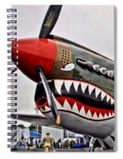 The Jacky C Spiral Notebook