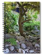 The Japanese Garden Spiral Notebook