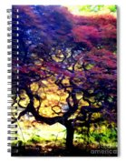 The Japanese Maple Spiral Notebook