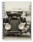 The Jaunty Jalopy Spiral Notebook