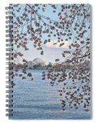 Jefferson Memorial # 5 Spiral Notebook