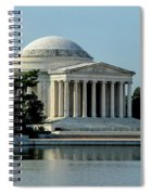 The Jefferson Memorial 2 Spiral Notebook