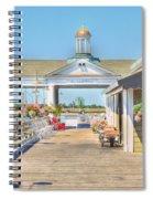 The Jekyll Wharf Spiral Notebook