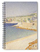 The Jetty At Cassis Spiral Notebook