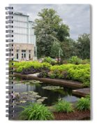 The Jewel Box At Forest Park Spiral Notebook