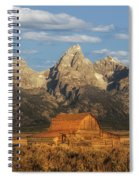 The John Moulton Barn Spiral Notebook