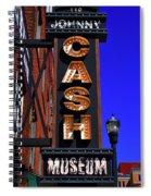 The Johnny Cash Museum - Nashville Spiral Notebook