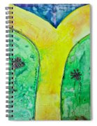The Journey #56 I'm Walking On Sunshine Spiral Notebook