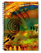 The Journey Back Home Spiral Notebook