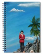 The Journey Of A Dog Trainer Spiral Notebook