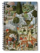 The Journey Of The Magi To Bethlehem Spiral Notebook