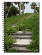 The Journey Secret Steps Spiral Notebook