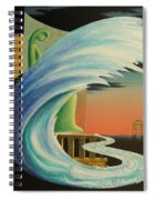 The Journy-17 Spiral Notebook