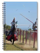 The Joust Spiral Notebook