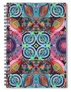 The Joy Of Design Mandala Series Puzzle 7 Arrangement 1 Spiral Notebook