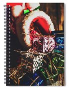 The Joy Of Giving On Christmas Spiral Notebook