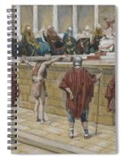 The Judgement On The Gabbatha Spiral Notebook