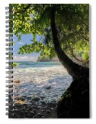 The Jungle At Onomea Bay  Spiral Notebook