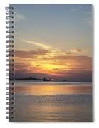 The Junk At Sunset Spiral Notebook