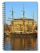 The Kaskelot In Bristol Dock Spiral Notebook