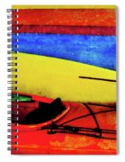 The Kayaks Spiral Notebook