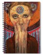 The Keeper Of Secrets Spiral Notebook