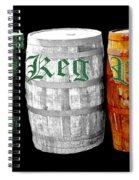 The Keg Room Irish Flag Colors Old English Hunter Green Spiral Notebook