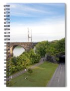 The Kelly Drive Rock Tunnel Spiral Notebook