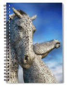 The Kelpies No.3 Spiral Notebook