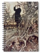 The Kensington Gardens Are In London Where The King Lives Spiral Notebook