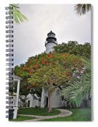 The Key West Lighthouse Spiral Notebook
