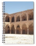 The Khan, Also Known As A Caravanserai, In Akko, Israel Spiral Notebook