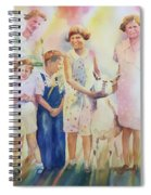 The Kids And The Kid Spiral Notebook