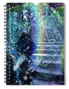 The Kindly Meeting On The Approach Up The Stairway Spiral Notebook