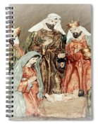 The King Of Kings Spiral Notebook