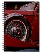The King Of The Road Spiral Notebook