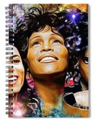 The King, The Queen And The Prince Spiral Notebook