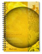 The Kingdom Of God Is Like A Mustard Seed Spiral Notebook