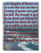The Kingdom Of Heaven Spiral Notebook